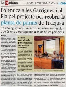 Noticia La Manyana